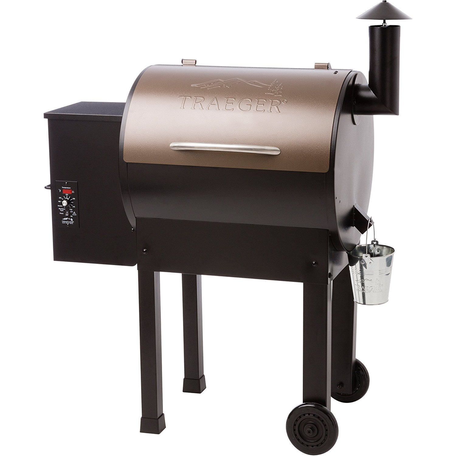 Traeger 22 Wood Pellet Grill and Smoker Smoke Bake Braise Barbecue BBQ Cooking